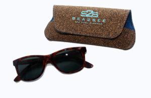 zonnebril sea2see eyewear met recycled hoesje